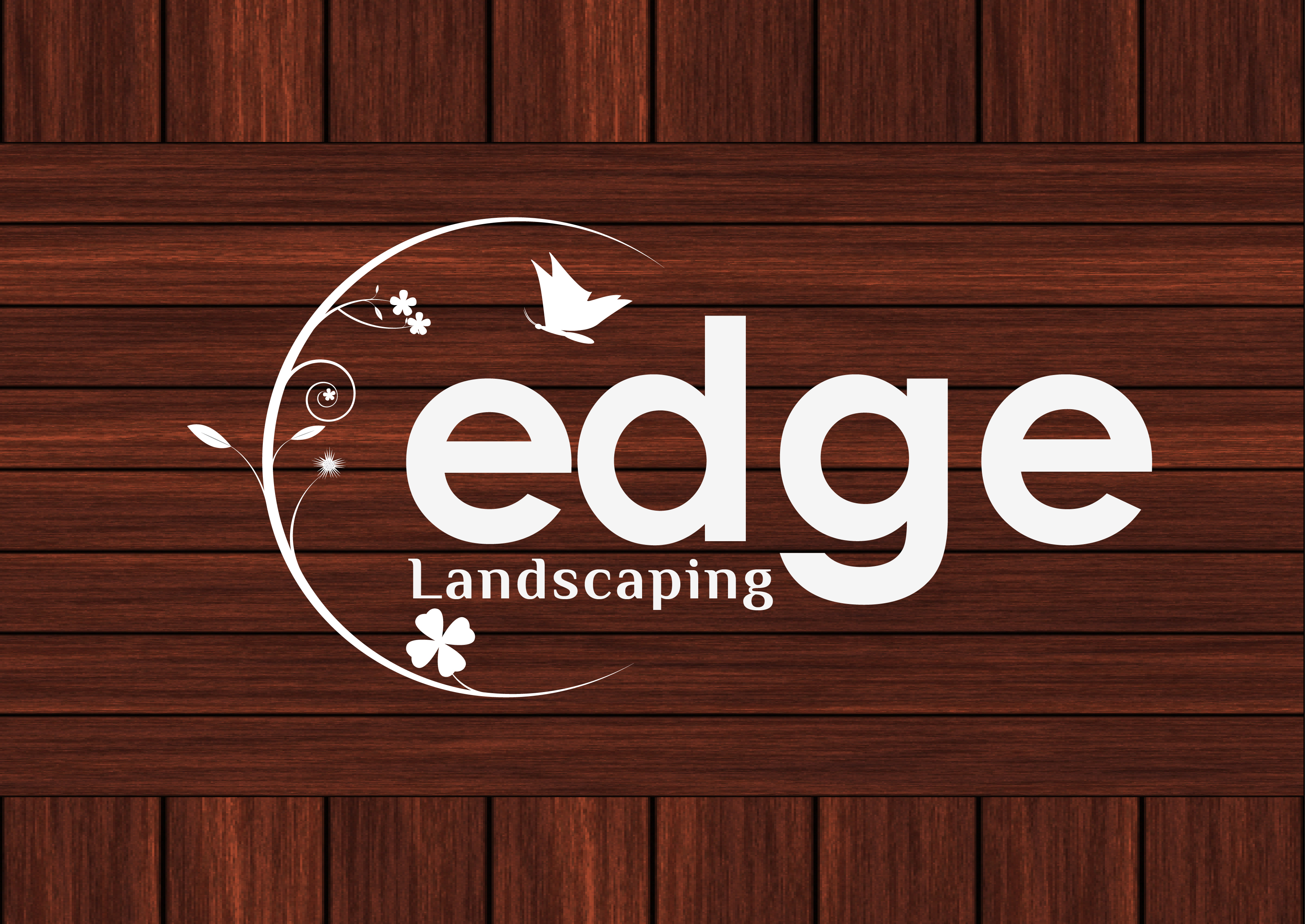Logo Design by 3draw - Entry No. 98 in the Logo Design Contest Inspiring Logo Design for Edge Landscaping.