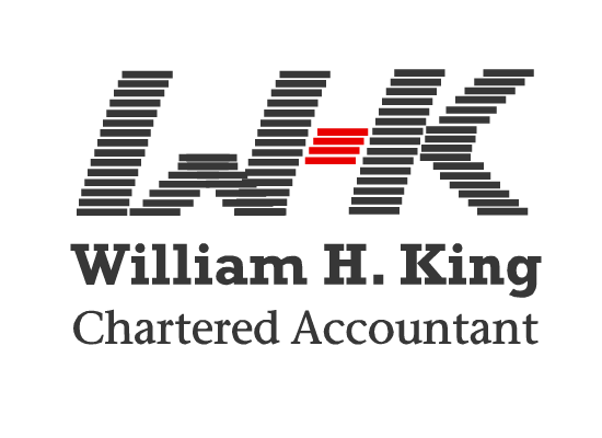Logo Design by Ismail Adhi Wibowo - Entry No. 17 in the Logo Design Contest New Logo Design for William H. King, Chartered Accountant.