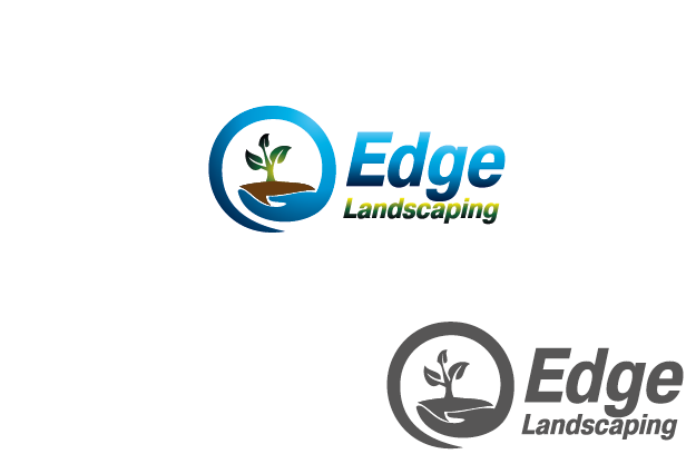 Logo Design by Private User - Entry No. 99 in the Logo Design Contest Inspiring Logo Design for Edge Landscaping.