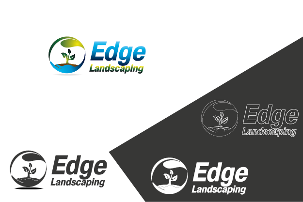 Logo Design by Private User - Entry No. 100 in the Logo Design Contest Inspiring Logo Design for Edge Landscaping.