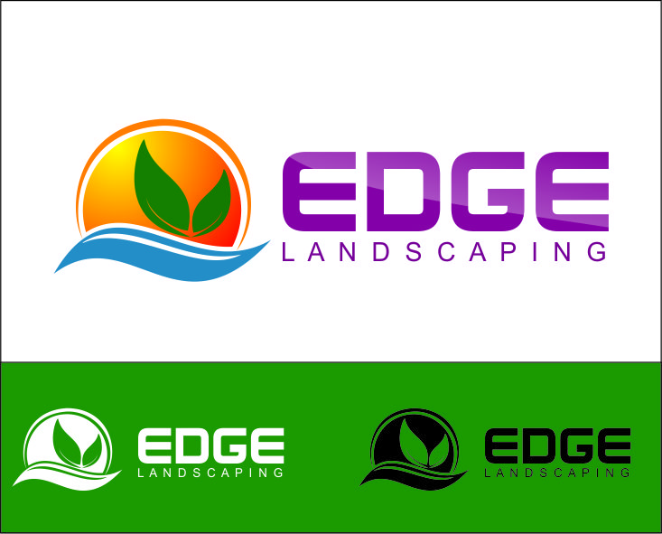 Logo Design by Agus Martoyo - Entry No. 101 in the Logo Design Contest Inspiring Logo Design for Edge Landscaping.