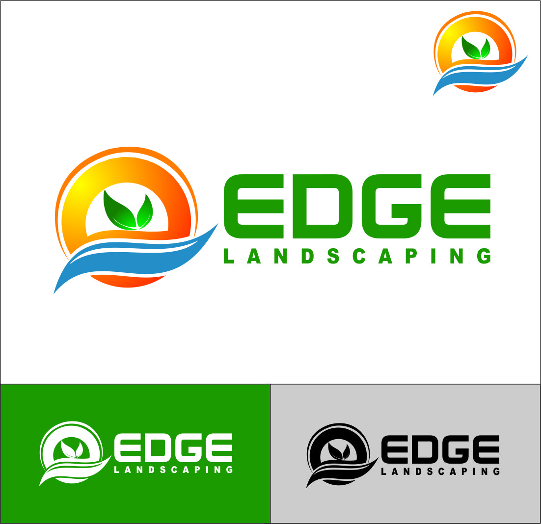 Logo Design by Agus Martoyo - Entry No. 102 in the Logo Design Contest Inspiring Logo Design for Edge Landscaping.