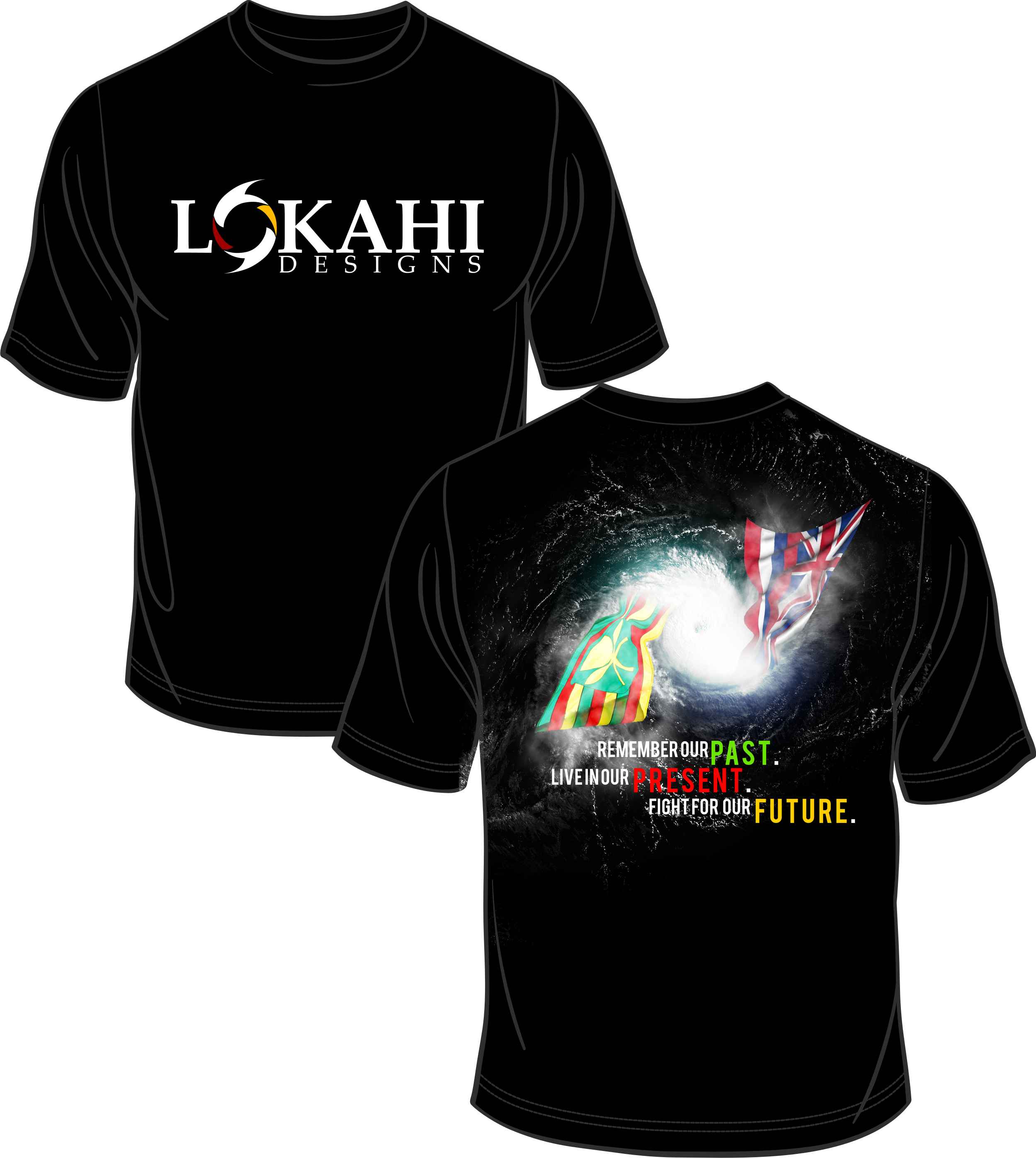 Clothing Design by Kenneth Joel - Entry No. 3 in the Clothing Design Contest Creative Clothing Design for LOKAHI designs.