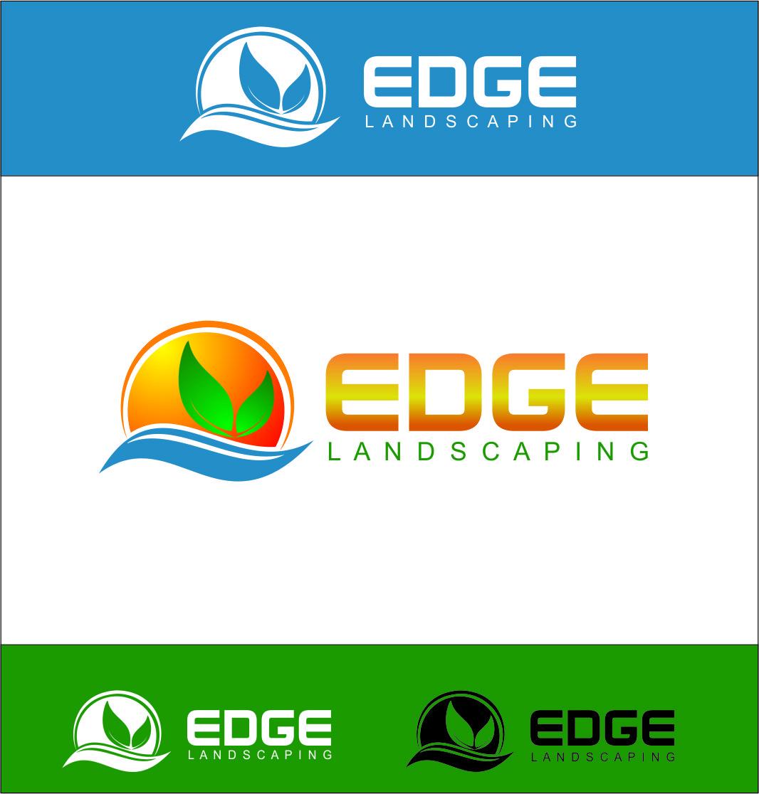 Logo Design by Agus Martoyo - Entry No. 106 in the Logo Design Contest Inspiring Logo Design for Edge Landscaping.