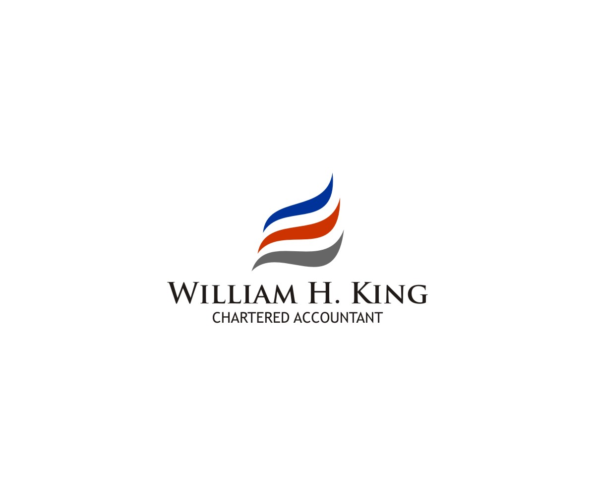 Logo Design by untung - Entry No. 20 in the Logo Design Contest New Logo Design for William H. King, Chartered Accountant.