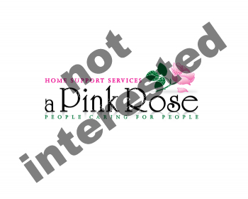Logo Design by Gmars - Entry No. 97 in the Logo Design Contest Pink Rose Home Support Services.