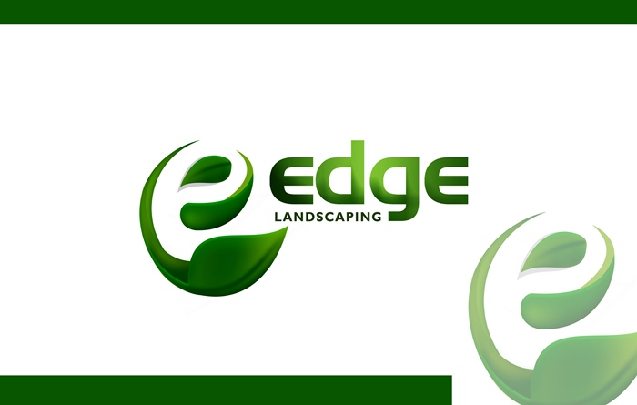 Logo Design by Respati Himawan - Entry No. 112 in the Logo Design Contest Inspiring Logo Design for Edge Landscaping.