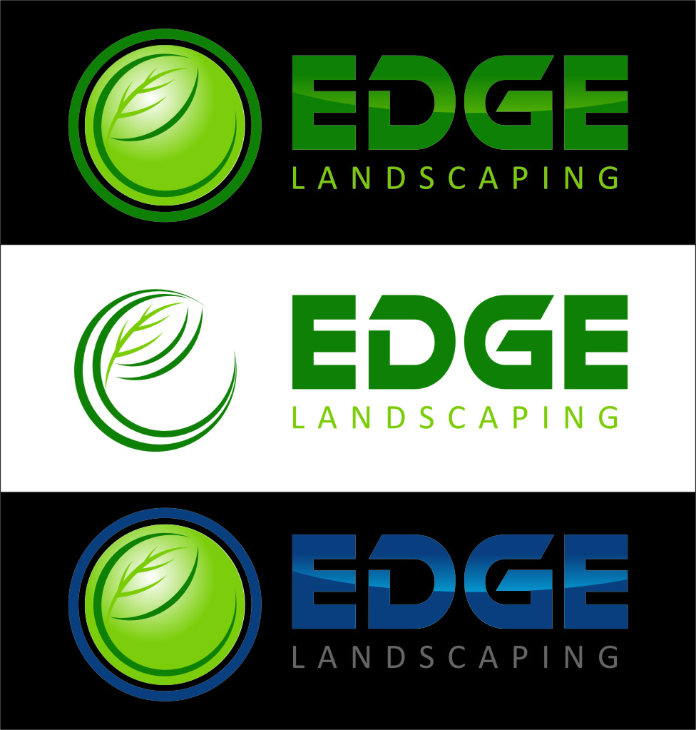 Logo Design by Ngepet_art - Entry No. 113 in the Logo Design Contest Inspiring Logo Design for Edge Landscaping.