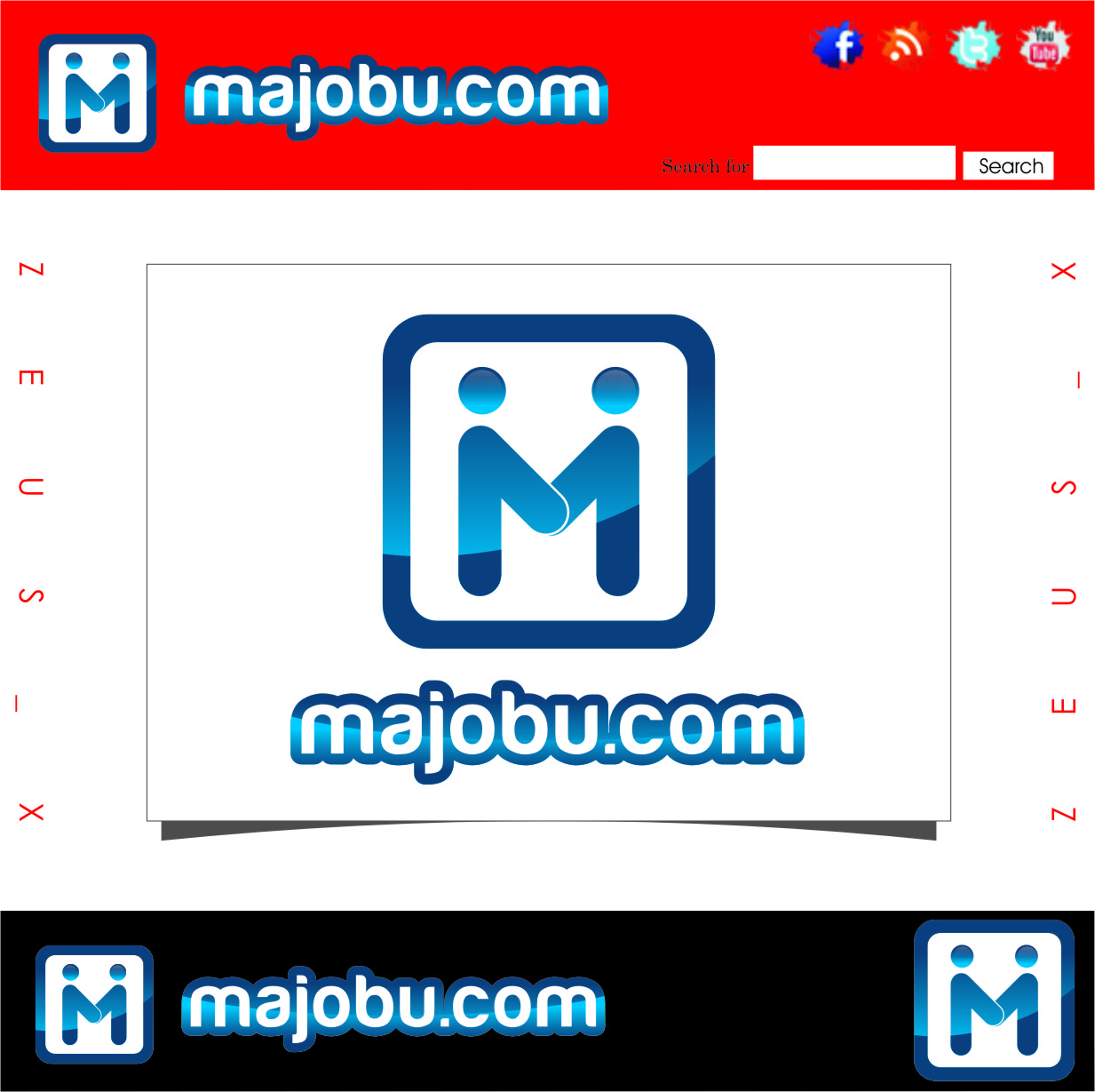 Logo Design by Ngepet_art - Entry No. 25 in the Logo Design Contest Inspiring Logo Design for Majobu.