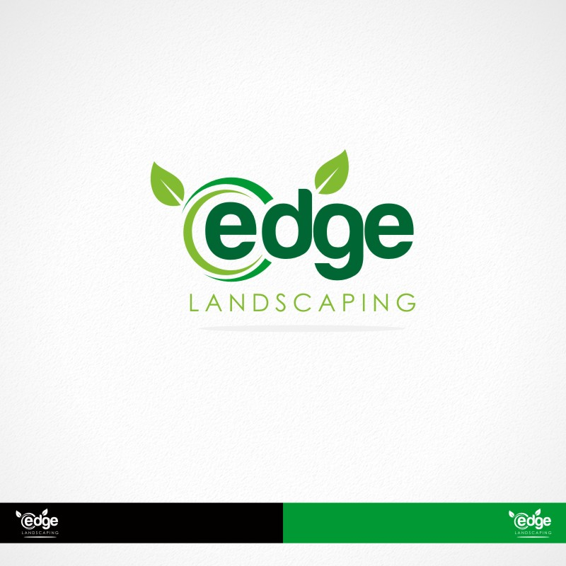 Logo Design by Private User - Entry No. 119 in the Logo Design Contest Inspiring Logo Design for Edge Landscaping.
