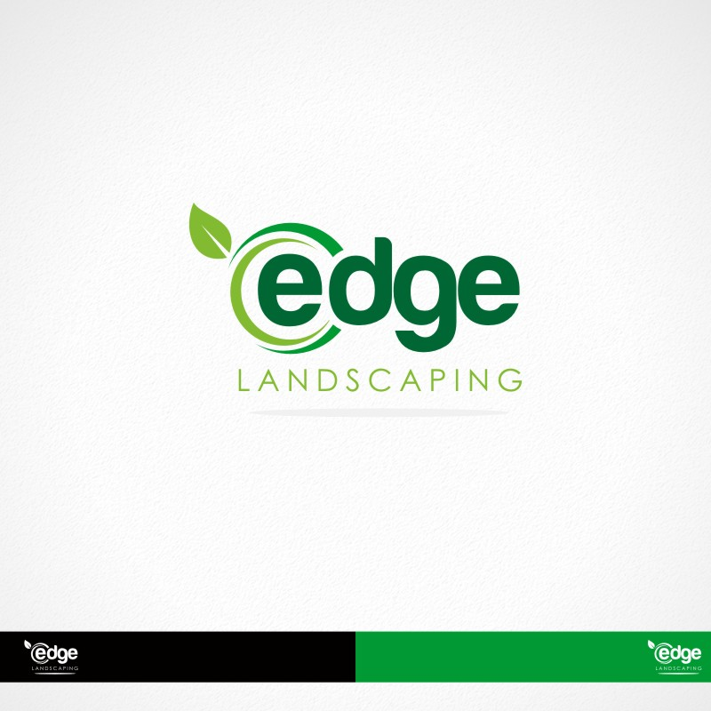 Logo Design by Private User - Entry No. 120 in the Logo Design Contest Inspiring Logo Design for Edge Landscaping.
