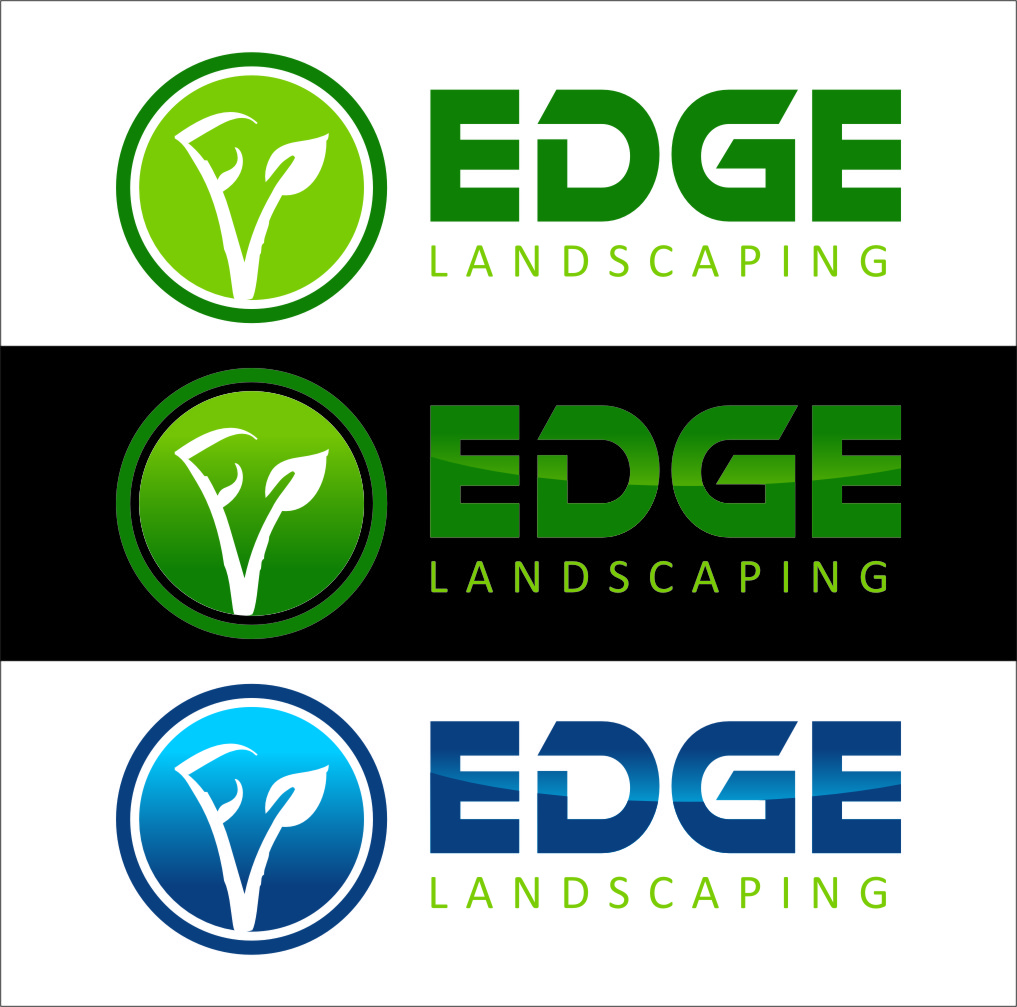 Logo Design by Ngepet_art - Entry No. 121 in the Logo Design Contest Inspiring Logo Design for Edge Landscaping.