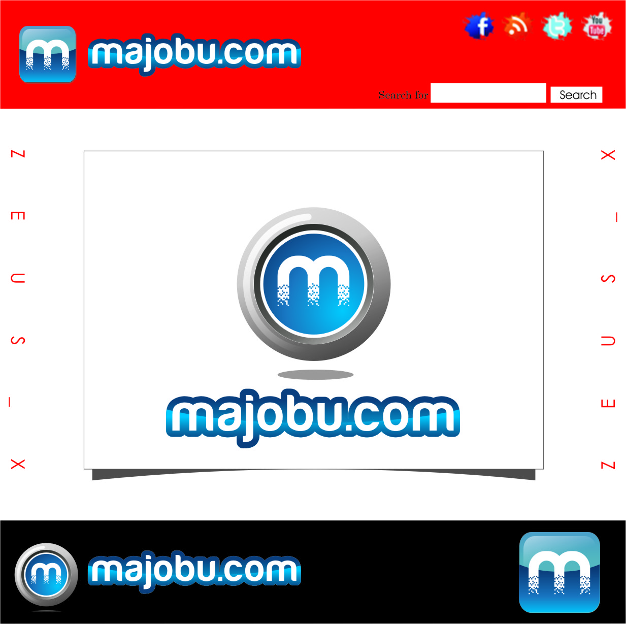 Logo Design by Ngepet_art - Entry No. 26 in the Logo Design Contest Inspiring Logo Design for Majobu.