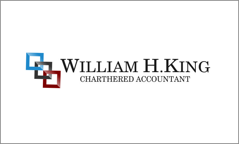 Logo Design by Agus Martoyo - Entry No. 28 in the Logo Design Contest New Logo Design for William H. King, Chartered Accountant.