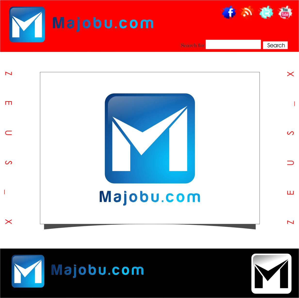 Logo Design by Ngepet_art - Entry No. 28 in the Logo Design Contest Inspiring Logo Design for Majobu.