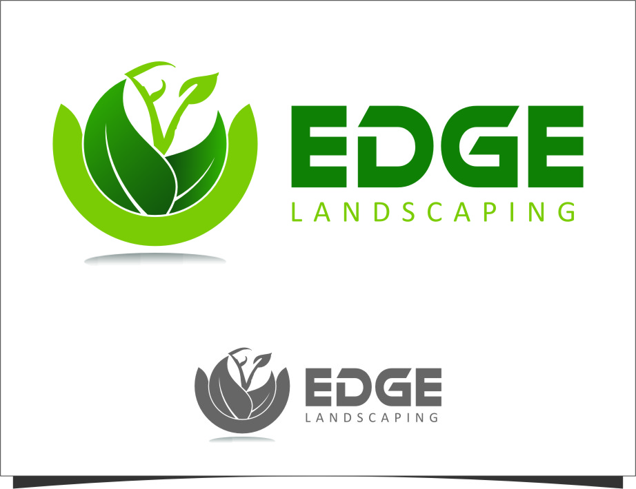Logo Design by Ngepet_art - Entry No. 125 in the Logo Design Contest Inspiring Logo Design for Edge Landscaping.