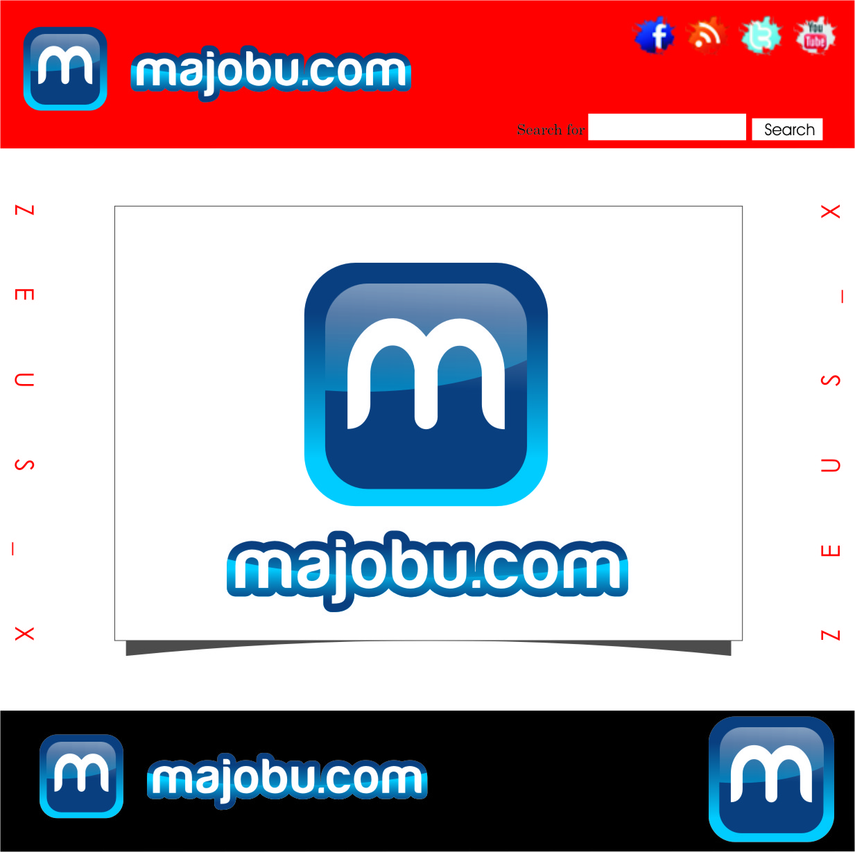 Logo Design by Ngepet_art - Entry No. 29 in the Logo Design Contest Inspiring Logo Design for Majobu.