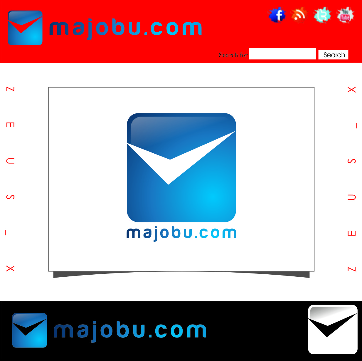 Logo Design by Ngepet_art - Entry No. 30 in the Logo Design Contest Inspiring Logo Design for Majobu.