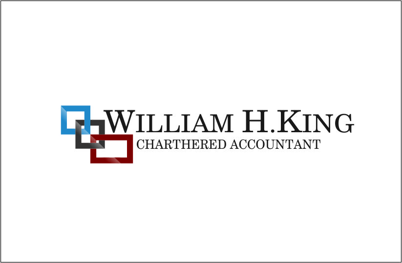 Logo Design by Agus Martoyo - Entry No. 30 in the Logo Design Contest New Logo Design for William H. King, Chartered Accountant.