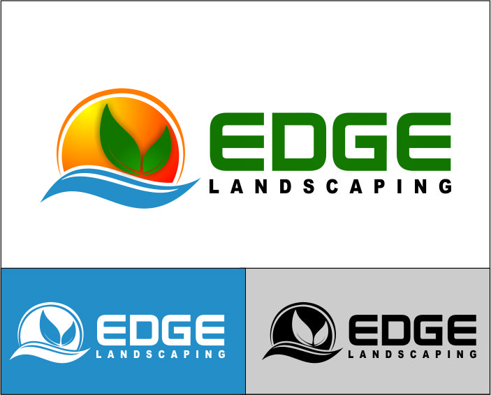 Logo Design by Agus Martoyo - Entry No. 129 in the Logo Design Contest Inspiring Logo Design for Edge Landscaping.