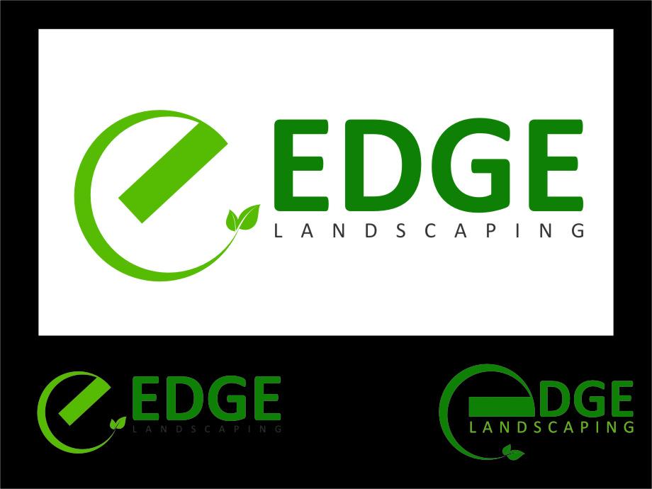 Logo Design by Ngepet_art - Entry No. 130 in the Logo Design Contest Inspiring Logo Design for Edge Landscaping.