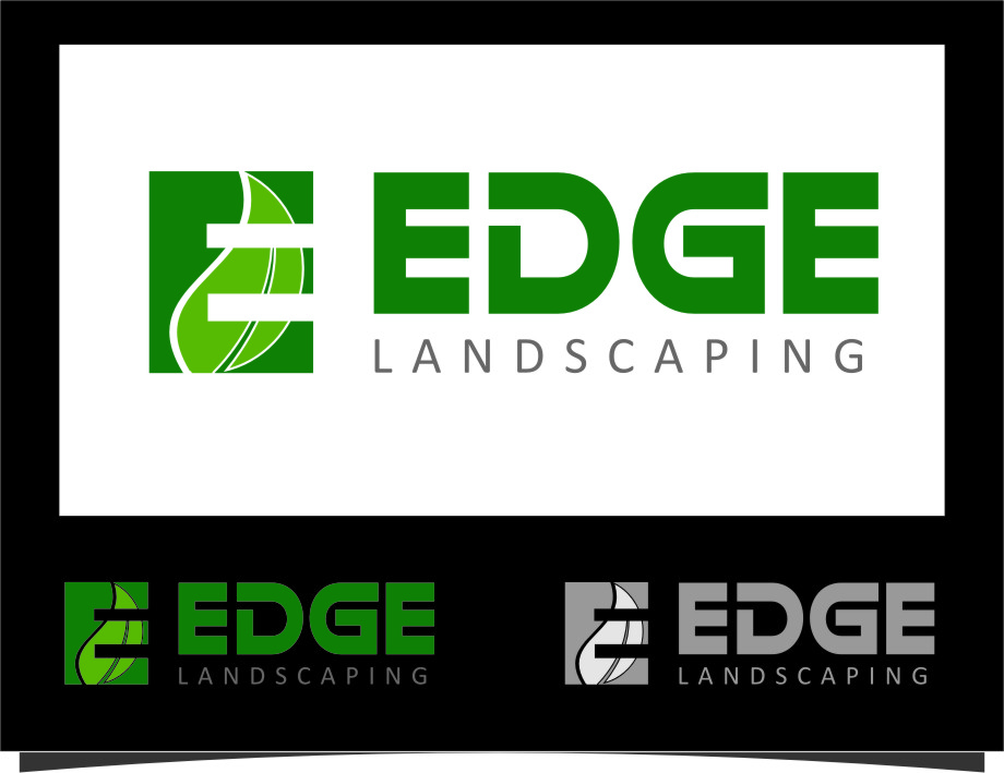 Logo Design by Ngepet_art - Entry No. 131 in the Logo Design Contest Inspiring Logo Design for Edge Landscaping.