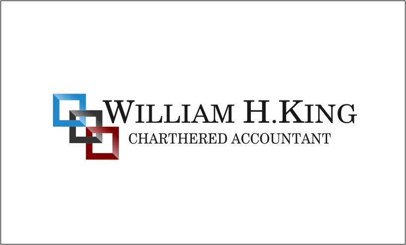 Logo Design by Agus Martoyo - Entry No. 33 in the Logo Design Contest New Logo Design for William H. King, Chartered Accountant.
