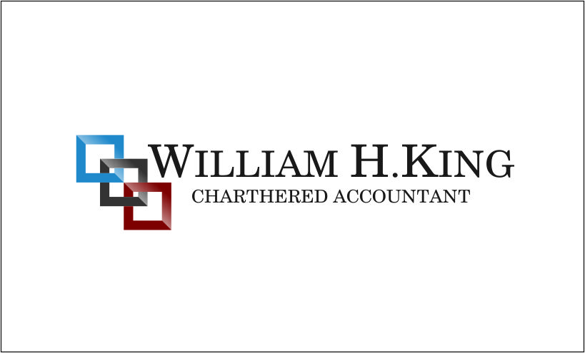 Logo Design by Agus Martoyo - Entry No. 35 in the Logo Design Contest New Logo Design for William H. King, Chartered Accountant.