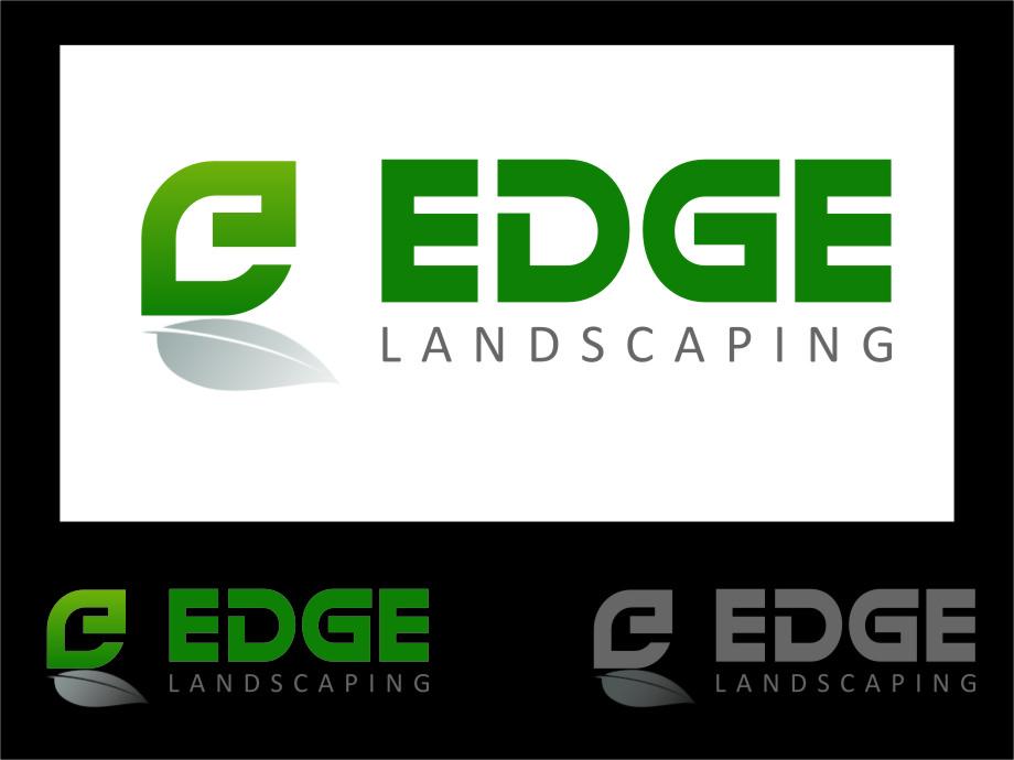 Logo Design by Ngepet_art - Entry No. 132 in the Logo Design Contest Inspiring Logo Design for Edge Landscaping.