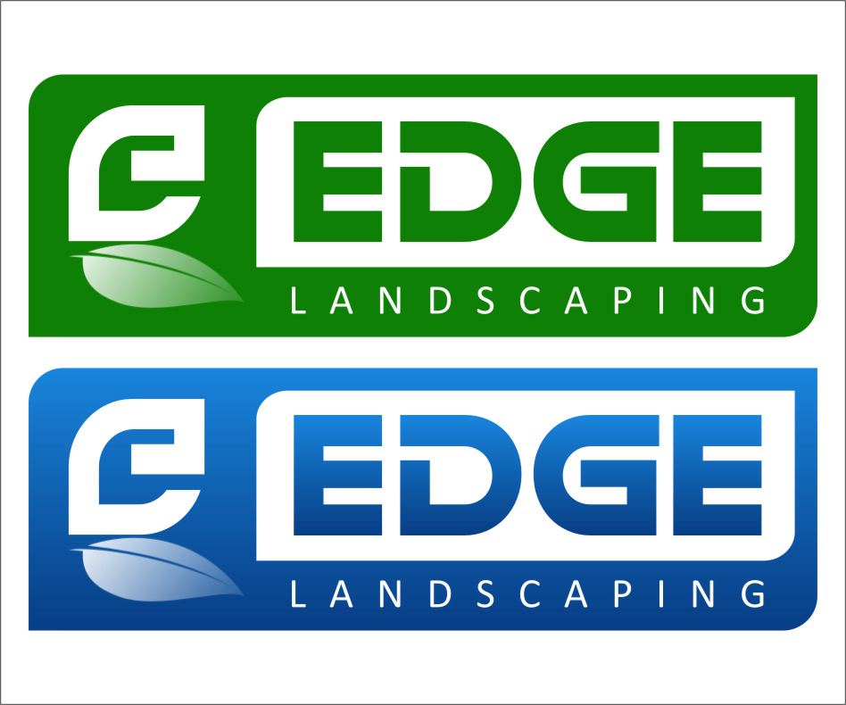 Logo Design by Ngepet_art - Entry No. 133 in the Logo Design Contest Inspiring Logo Design for Edge Landscaping.