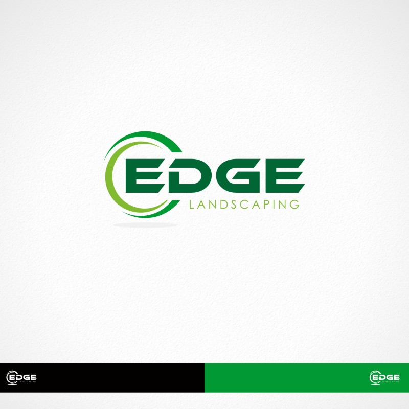 Logo Design by Private User - Entry No. 134 in the Logo Design Contest Inspiring Logo Design for Edge Landscaping.