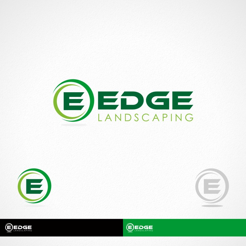 Logo Design by Private User - Entry No. 136 in the Logo Design Contest Inspiring Logo Design for Edge Landscaping.
