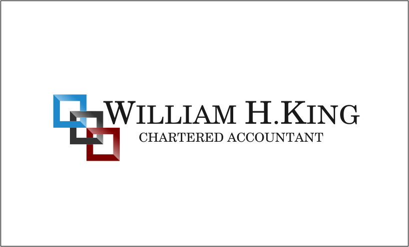 Logo Design by Agus Martoyo - Entry No. 37 in the Logo Design Contest New Logo Design for William H. King, Chartered Accountant.