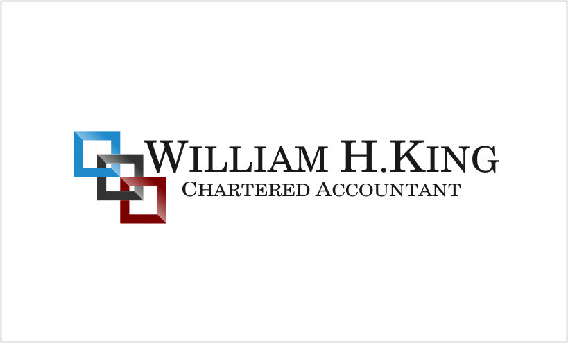 Logo Design by Agus Martoyo - Entry No. 38 in the Logo Design Contest New Logo Design for William H. King, Chartered Accountant.