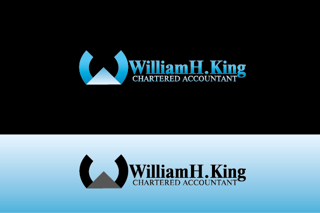 Logo Design by Private User - Entry No. 42 in the Logo Design Contest New Logo Design for William H. King, Chartered Accountant.