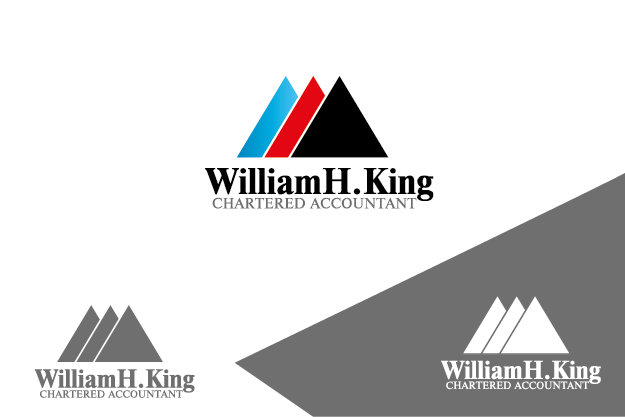 Logo Design by Private User - Entry No. 46 in the Logo Design Contest New Logo Design for William H. King, Chartered Accountant.