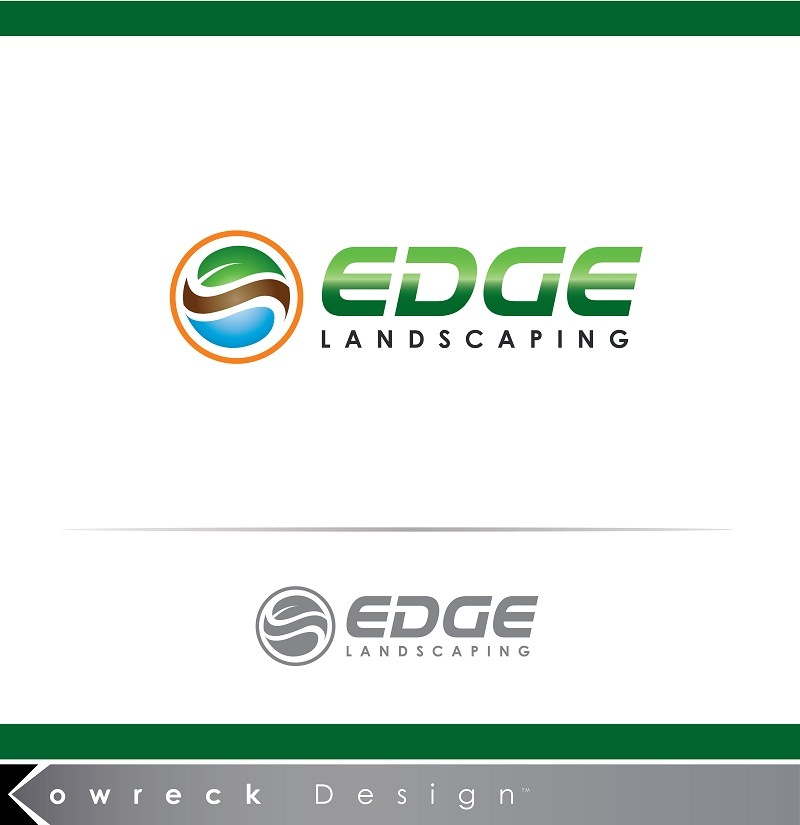 Logo Design by kowreck - Entry No. 137 in the Logo Design Contest Inspiring Logo Design for Edge Landscaping.
