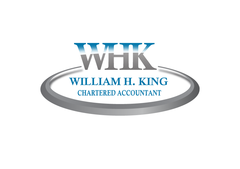 Logo Design by Amianan - Entry No. 47 in the Logo Design Contest New Logo Design for William H. King, Chartered Accountant.