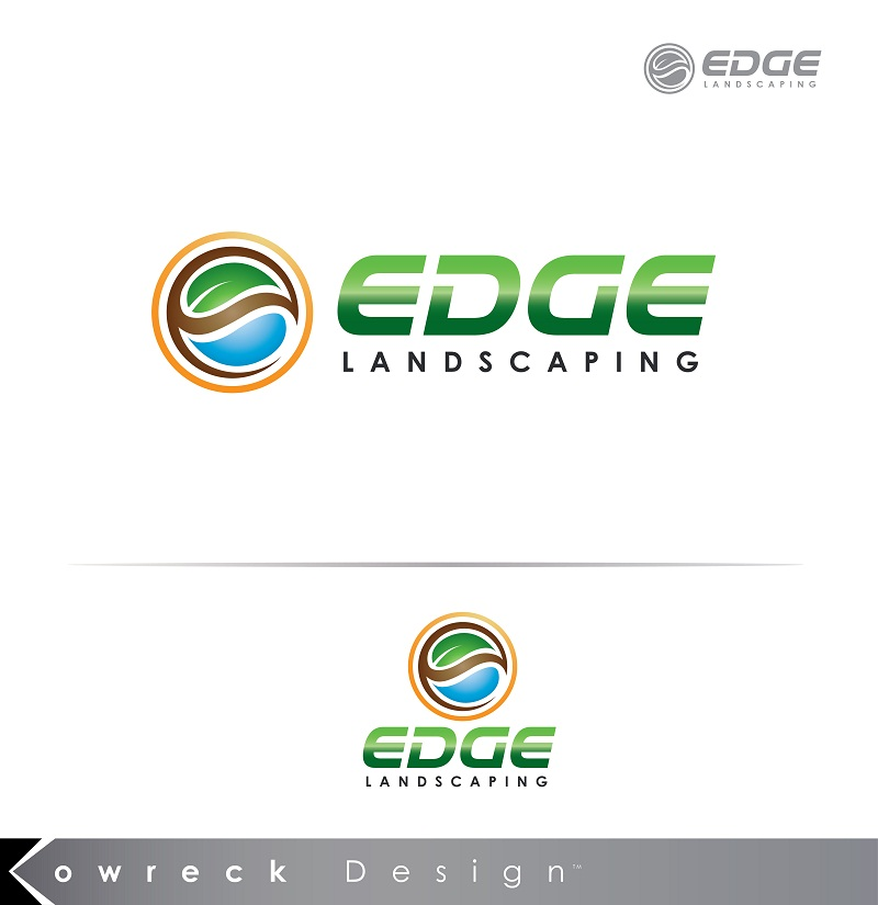 Logo Design by kowreck - Entry No. 138 in the Logo Design Contest Inspiring Logo Design for Edge Landscaping.
