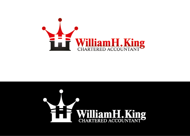 Logo Design by Private User - Entry No. 48 in the Logo Design Contest New Logo Design for William H. King, Chartered Accountant.