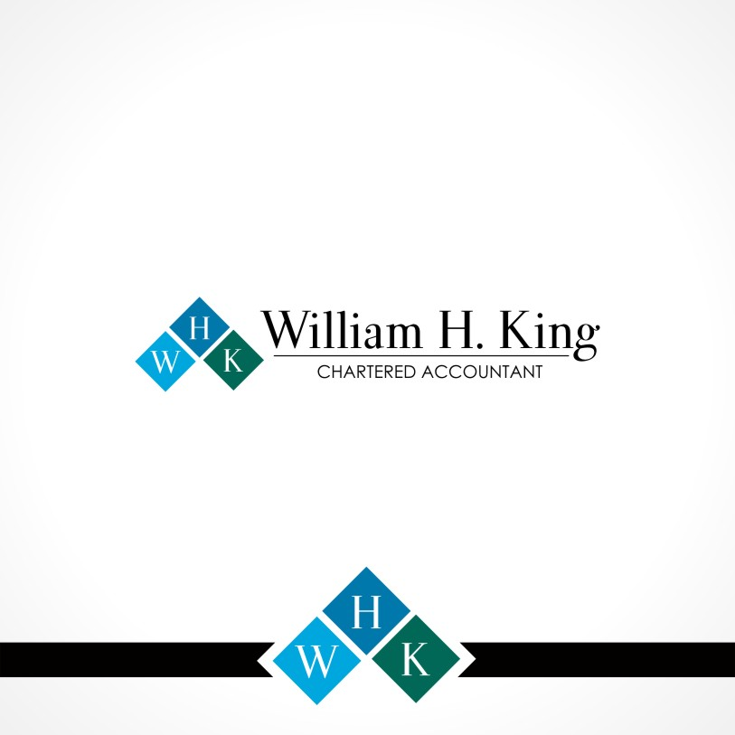 Logo Design by Private User - Entry No. 51 in the Logo Design Contest New Logo Design for William H. King, Chartered Accountant.