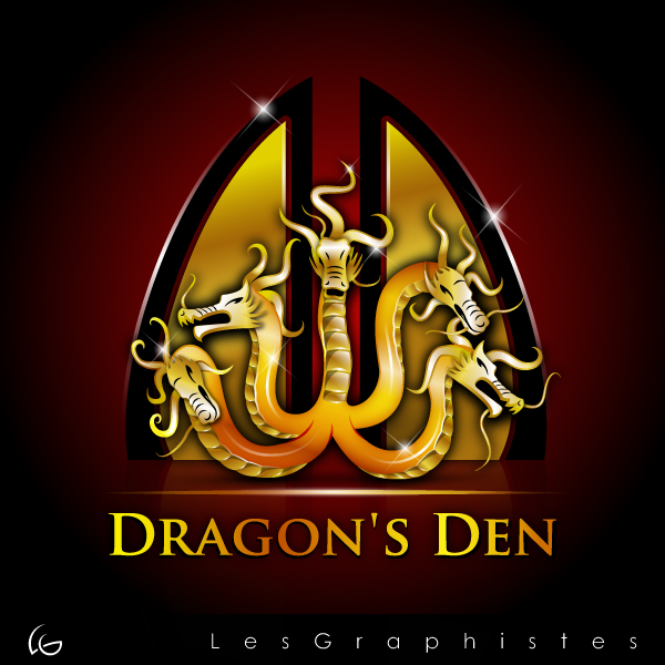 Logo Design by Les-Graphistes - Entry No. 82 in the Logo Design Contest The Dragons' Den needs a new logo.