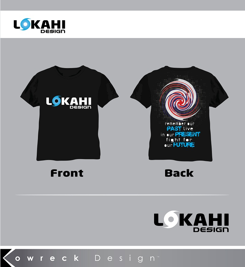 Clothing Design by kowreck - Entry No. 4 in the Clothing Design Contest Creative Clothing Design for LOKAHI designs.