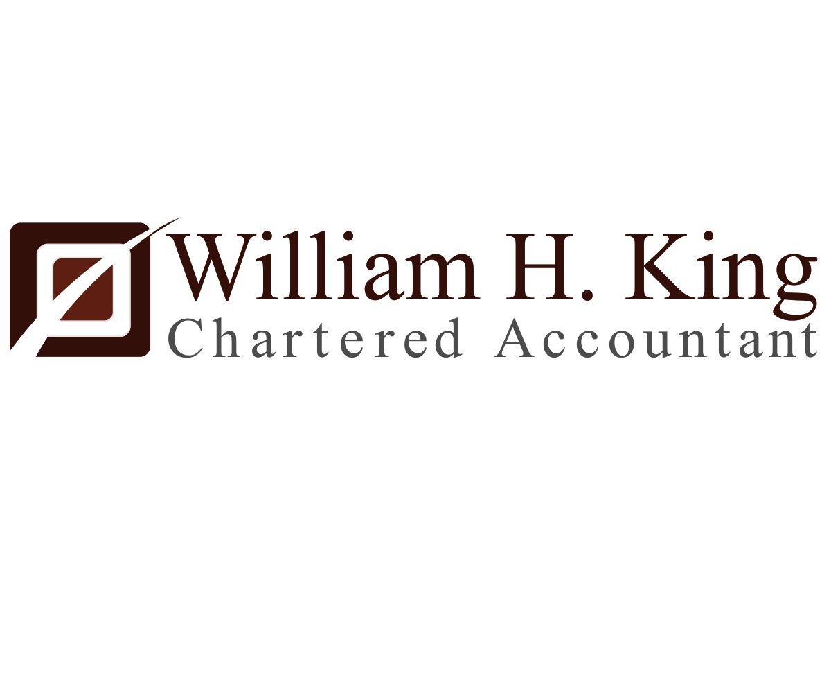Logo Design by franz - Entry No. 59 in the Logo Design Contest New Logo Design for William H. King, Chartered Accountant.