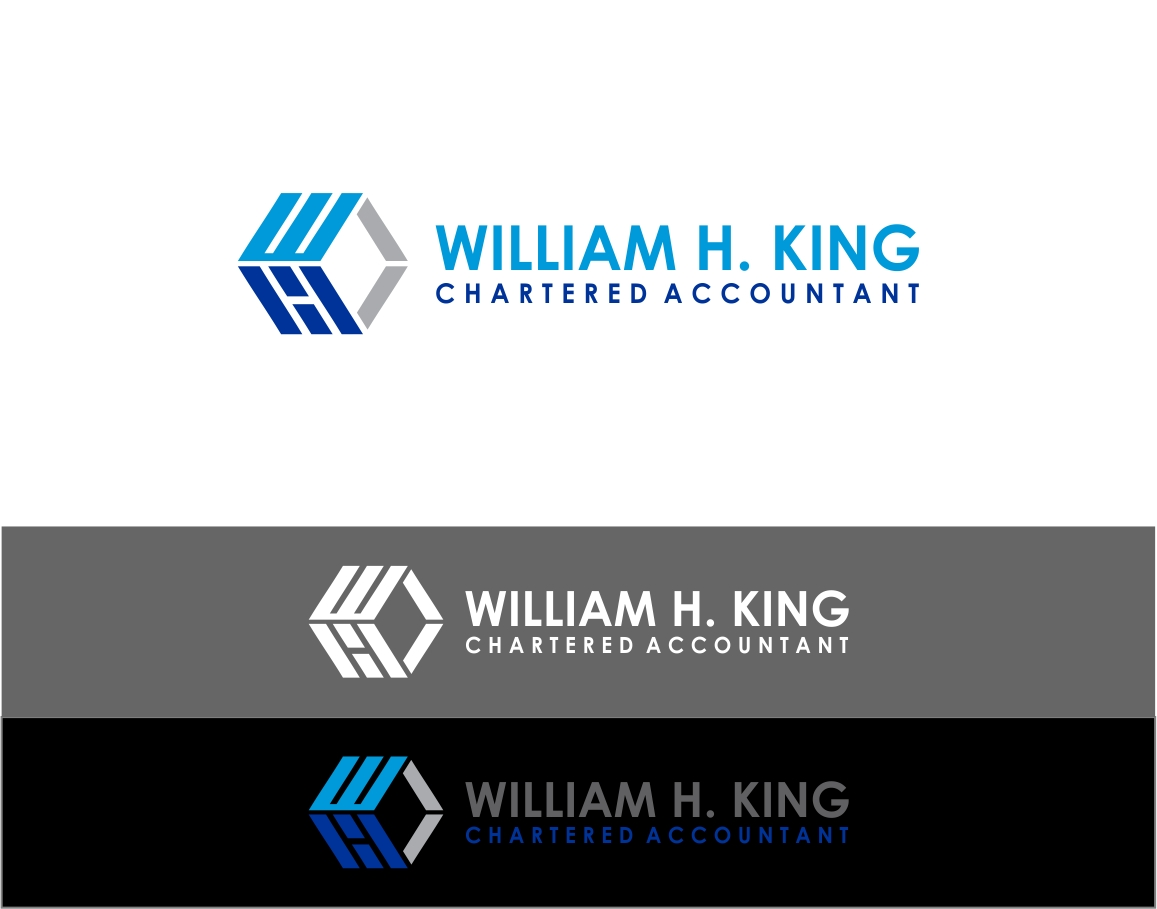 Logo Design by haidu - Entry No. 63 in the Logo Design Contest New Logo Design for William H. King, Chartered Accountant.