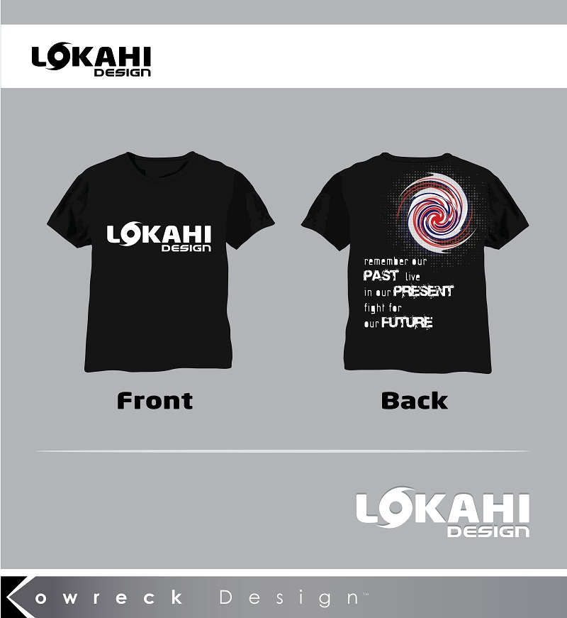 Clothing Design by kowreck - Entry No. 6 in the Clothing Design Contest Creative Clothing Design for LOKAHI designs.