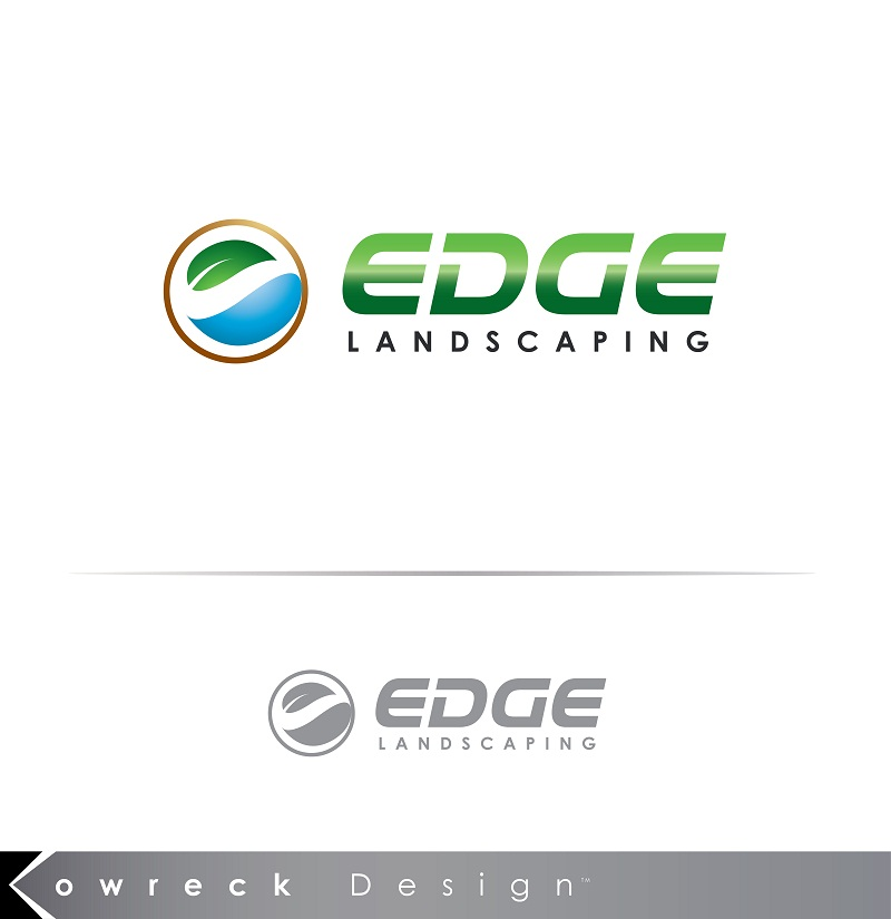 Logo Design by kowreck - Entry No. 143 in the Logo Design Contest Inspiring Logo Design for Edge Landscaping.