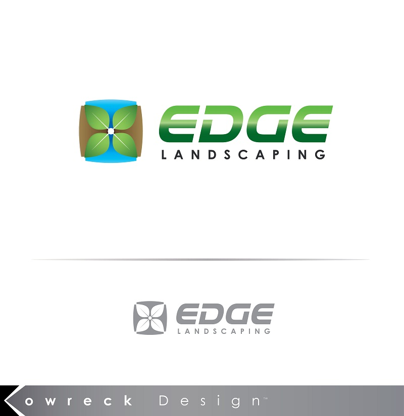 Logo Design by kowreck - Entry No. 144 in the Logo Design Contest Inspiring Logo Design for Edge Landscaping.