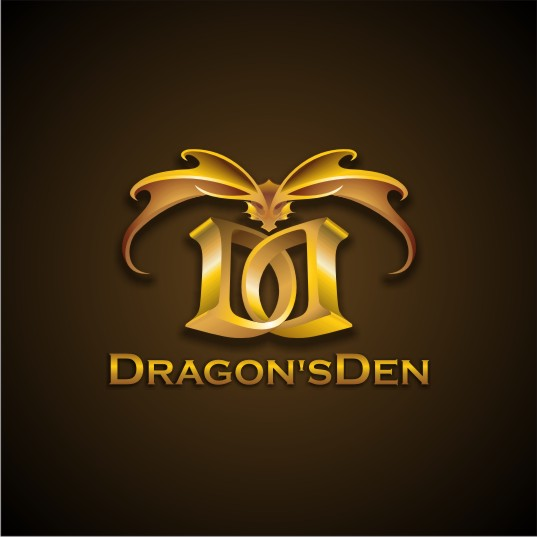 Logo Design by njleqytouch - Entry No. 84 in the Logo Design Contest The Dragons' Den needs a new logo.