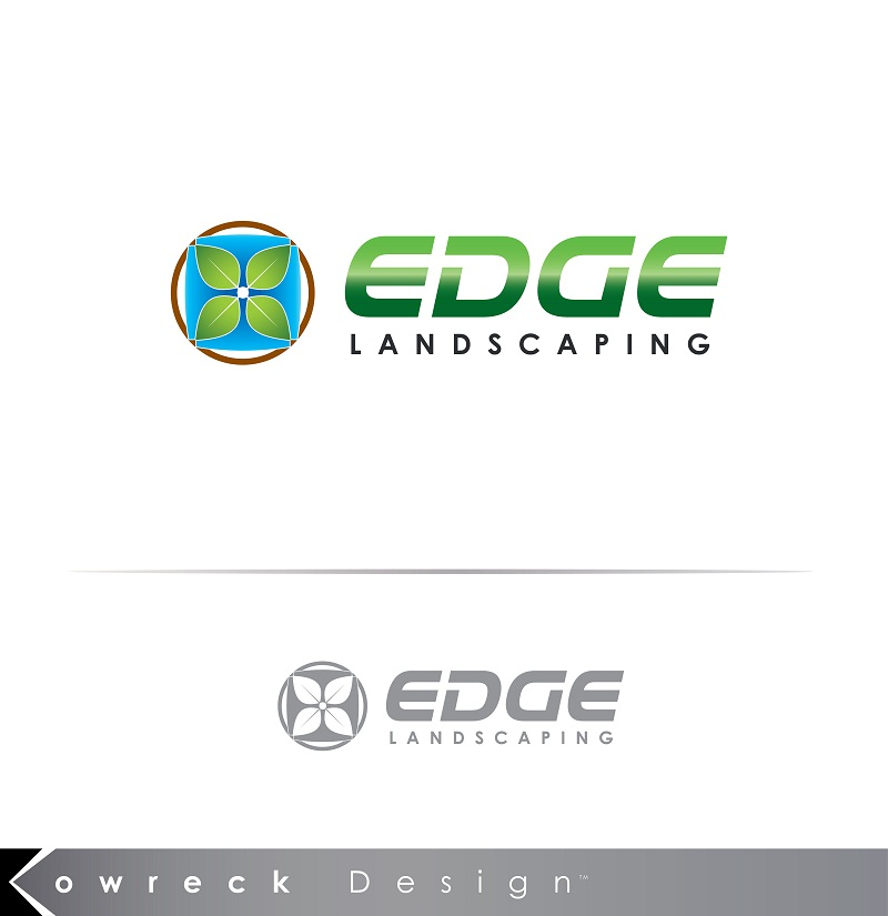 Logo Design by kowreck - Entry No. 146 in the Logo Design Contest Inspiring Logo Design for Edge Landscaping.